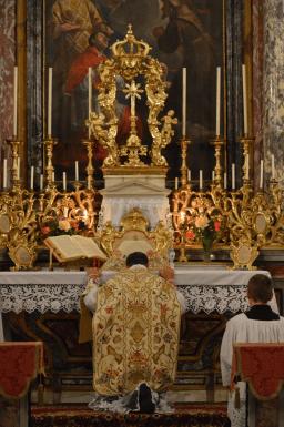 Messe de la fête du saint Cœur de Marie près de Turin 07