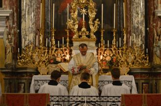 Messe de la fête du saint Cœur de Marie près de Turin 10