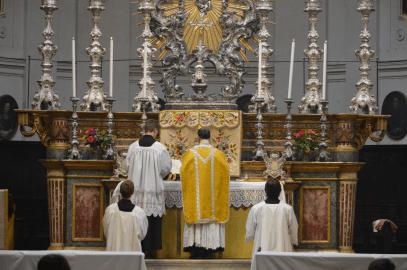 Messe de saint Louis à Turin 01