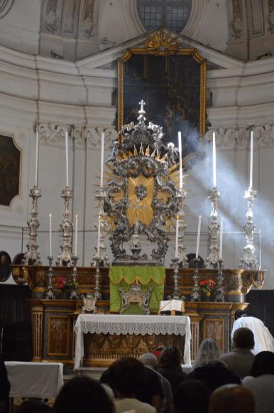 Messe du XIème dimanche après la Pentecôte à Turin 01