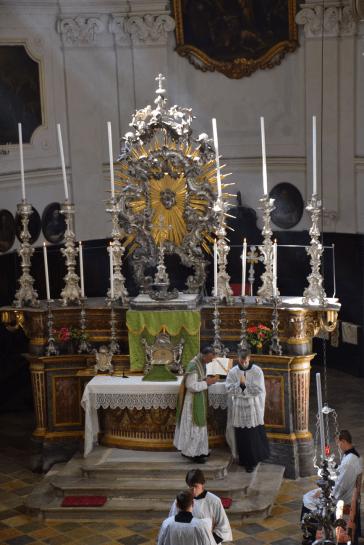 Messe du XIème dimanche après la Pentecôte à Turin 08