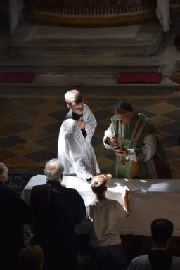 Messe du XIème dimanche après la Pentecôte à Turin 15