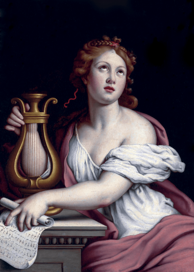 Sainte Cécile par Giovanni Battista Salvi, detto Sassoferrato (1609 - 1685)