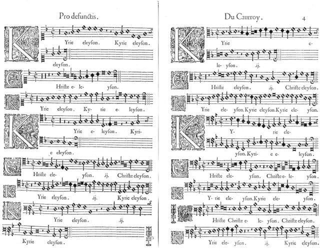 Kyrie du Requiem des Rois de France d'Eustache du Caurroy