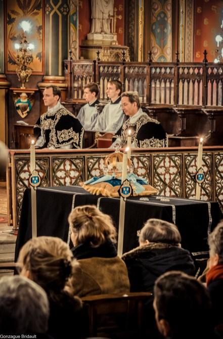Requiem pour Louis XVI en 2014 - messe solennelle à Saint-Eugène - Sainte-Cécile - Paris IX