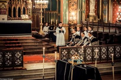 Requiem pour Louis XVI en 2014 - vue du chœur