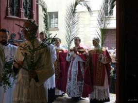 Rameaux 2015 - 11 - entrée de la procession