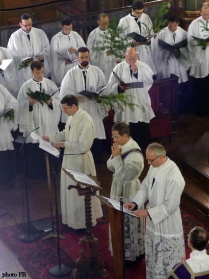 Rameaux 2015 - 16 - chant de la Passion selon Matthieu