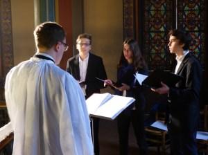 Rameaux 2015 - 21 - Miserere d'Allegri à la communion - le chœur des enfants