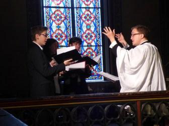 Rameaux 2015 - 24 - Miserere d'Allegri à la communion - le chœur des enfants