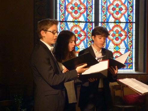 Rameaux 2015 - 29 - Miserere d'Allegri à la communion - le chœur des enfants