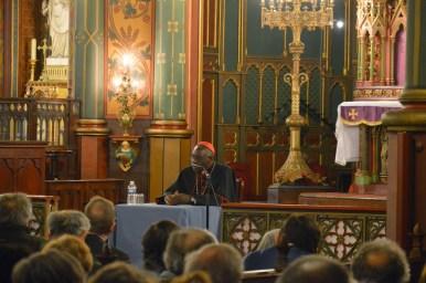 Son Eminence le cardinal Sarah à Saint-Eugène 02