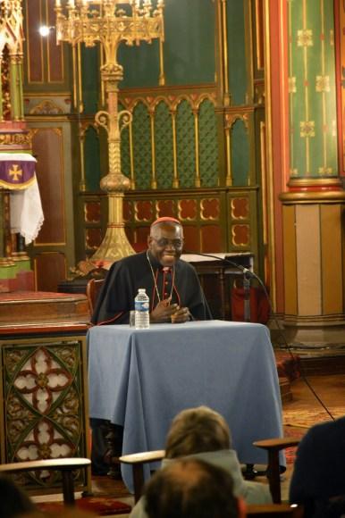 Son Eminence le cardinal Sarah à Saint-Eugène 08