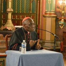 Son Eminence le cardinal Sarah à Saint-Eugène 10
