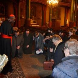 Son Eminence le cardinal Sarah à Saint-Eugène 15