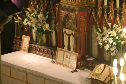 01 - Jeudi Saint 2015 - l'autel avant la messe