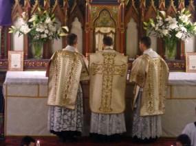 12 - Jeudi Saint 2015 - avant la communion