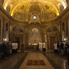 01 Messe de la saint Yves en la chapelle des Spiritains