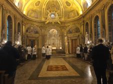 02 Messe de la saint Yves en la chapelle des Spiritains