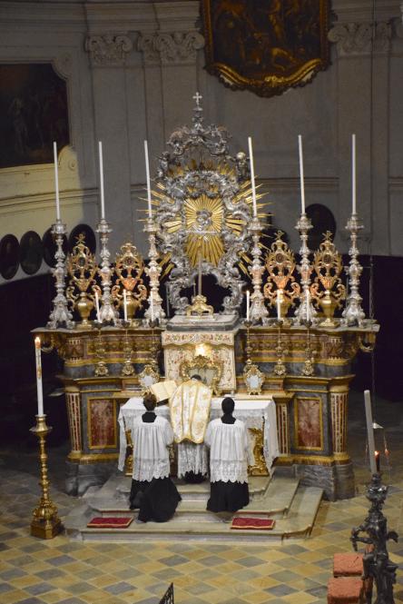 03 Messe de la fête de sainte Catherine de Sienne à l'église de la Miséricorde à Turin