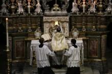 11 Messe de la fête de sainte Catherine de Sienne à l'église de la Miséricorde à Turin