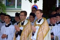 Après la messe.