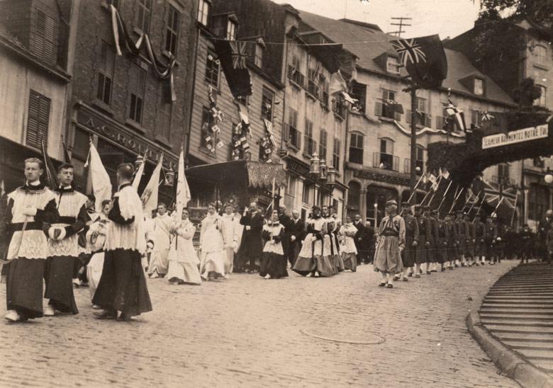 Fête-Dieu à Québec en 1919