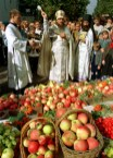 Bénédiction des fruits à la Transfiguration en Russie 02