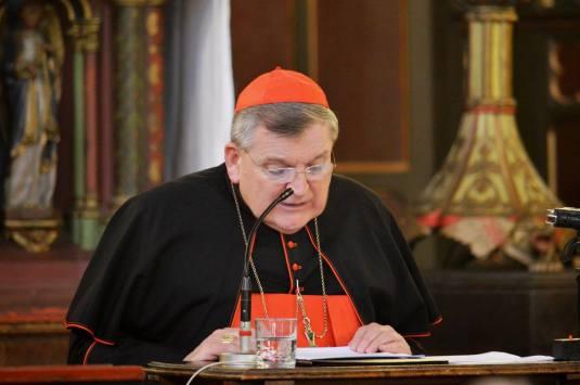 02-Conférence de SE le cardinal Burke à Saint-Eugène
