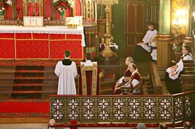 05 - Chant de l'épître par le sous-diacre - Sainte Cécile 2015