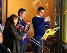 22 - Les musiciens célèbrent leur patronnent - Sainte Cécile 2015