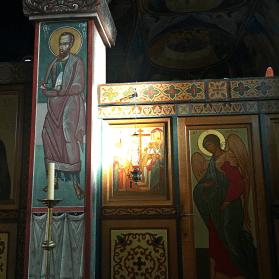 Chevetogne - saint Paul et l'archange Gabriel