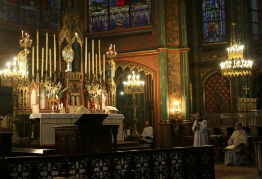 07-Messe de reposition des Quarante-Heures coram Sanctissomo - pendant le chant du Gloria