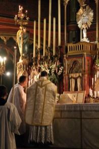 12-Messe de reposition des Quarante-Heures coram Sanctissomo - chant de l'évangile