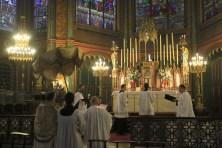 25-Messe de reposition des Quarante-Heures coram Sanctissomo - retour de la procession au maître-autel