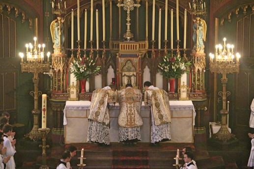 19 - Dimanche du Bon Pasteur 2016 - communion du célébrant