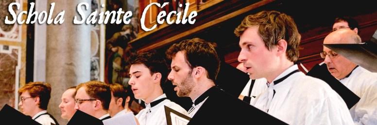 Messe dans la basilique Saint-Pierre-du-Vatican chantée en 2015 par la Schola Sainte Cecile
