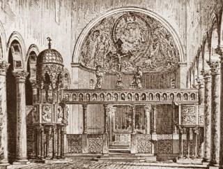 Chœur de la basilique patriarcale Sainte-Euphémie de Grado