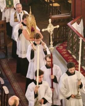 Procession des reliques de saint Eugène