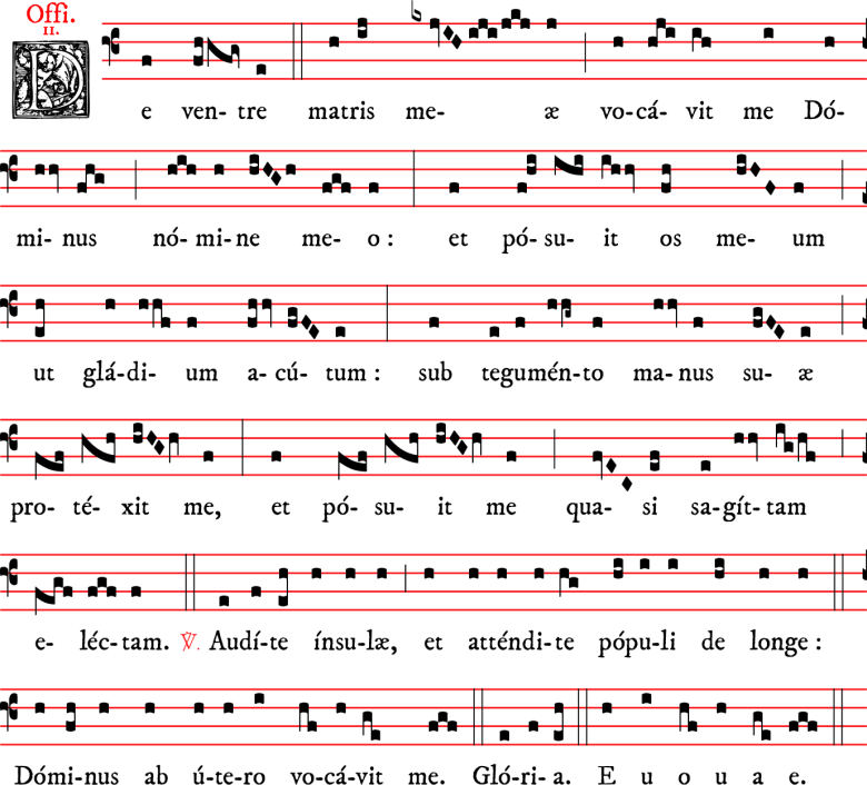 Officium - De ventre - ton 2 - chant dominicain