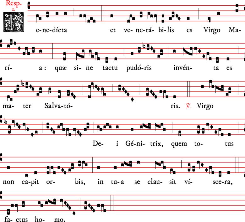 Répons - Benedicta - ton 1