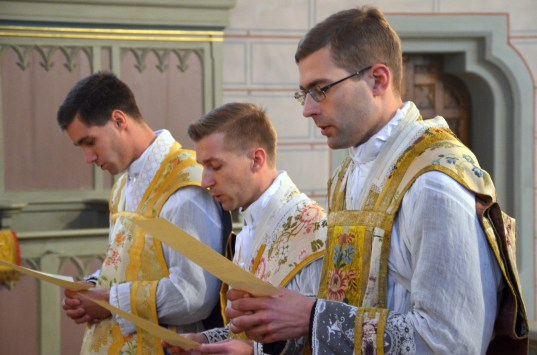 Abbe Télisson - ordination
