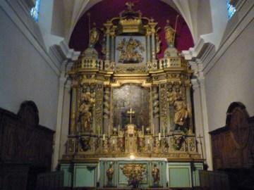 Saint-Bon, église Saint-Bon : retable majeur.