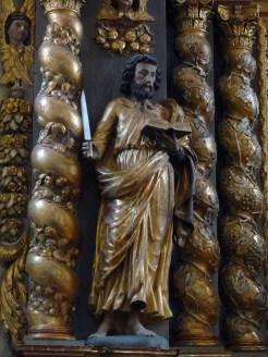 Granier, église Saint-Barthélémy : retable majeur, saint Paul.