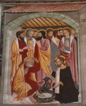 Le lavement des pieds - Chapelle Saint Sébastien – Lanslevillard