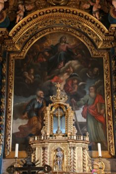 La Vierge, saint Pierre & saint Paul.