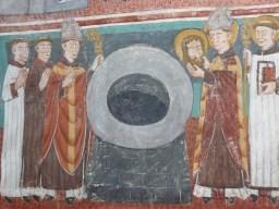 Vulmix - Saint Grat devant le puis reçoit la sainte relique.