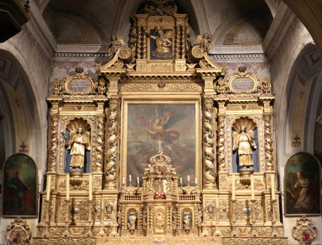 Lanslevillard, église Saint-Michel.