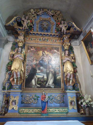 Notre-Dame de l'Assomtion de Bramans : chapelle de confrérie.