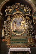 Notre-Dame de l'Assomption à Valloire : retable de saint Roch.